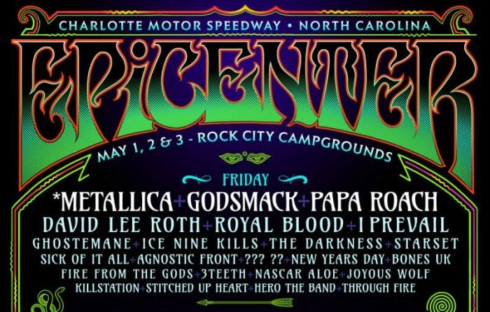 Metallica Tour 2020 Opening Act.Metallica Disturbed Godsmack And More Headlining Epicenter