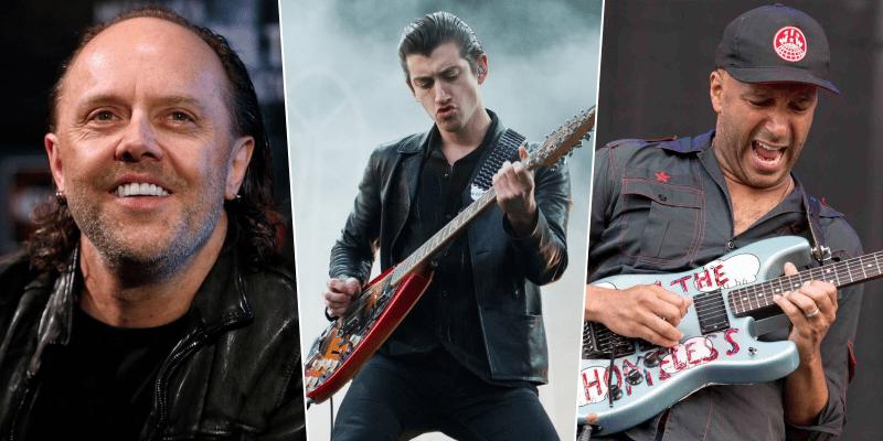 Metallica Drummer Lars Ulrich Praises Rage Against The Machine And Arctic Monkeys
