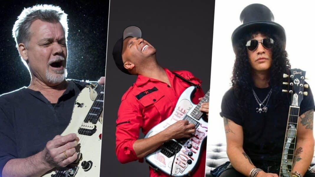Eddie Van Halen, Tom Morello & Slash