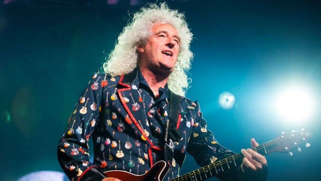 Queen guitarist Brian May in London, July 2, 2018.