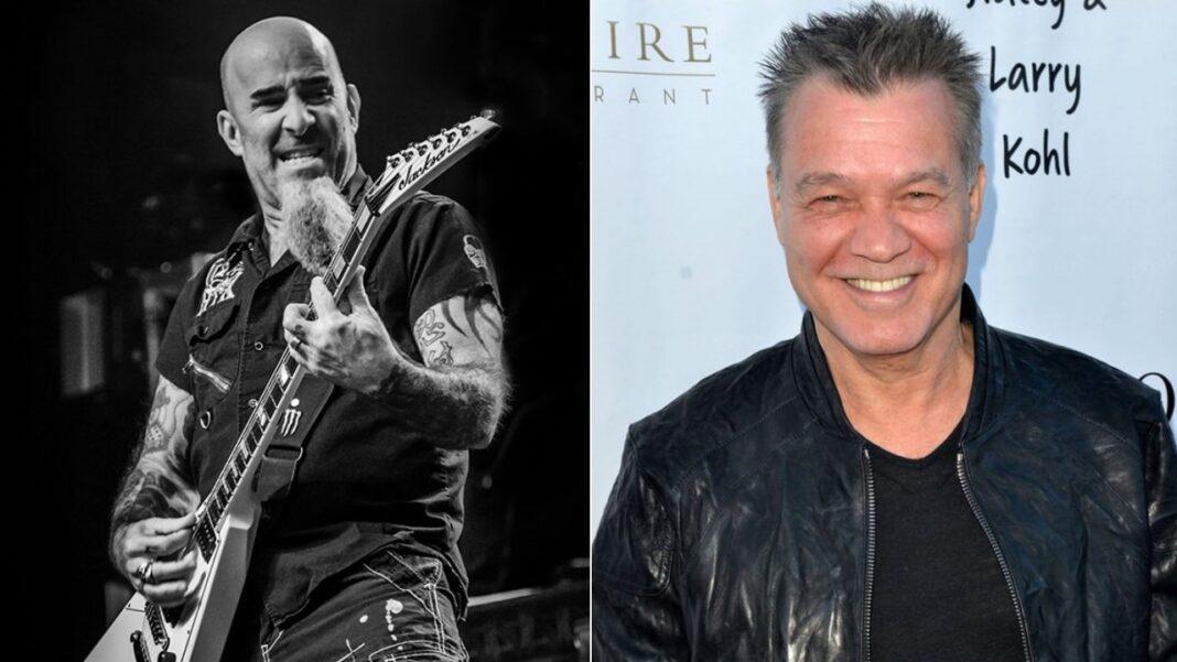Scott Ian and Eddie Van Halen
