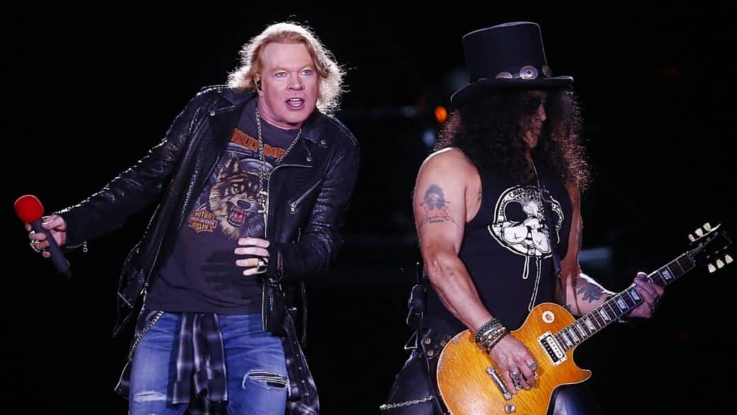 Slash & Axl Rose