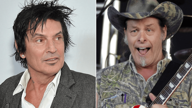 Motley Crue S Tommy Lee Responds Ted Nugent S Disrespectful Comments Harshly