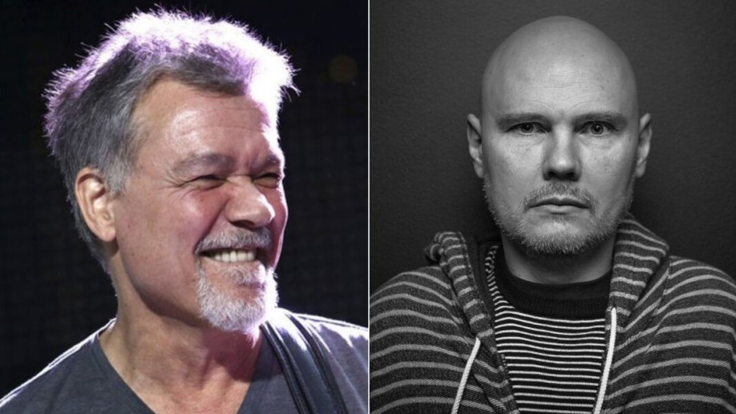 Eddie Van Halen and Billy Corgan