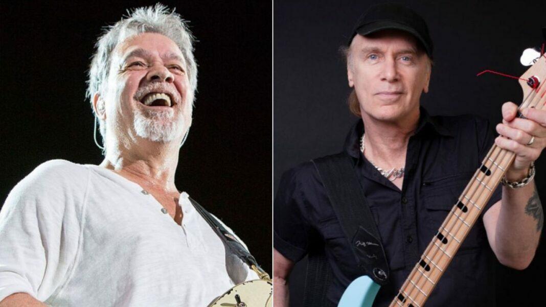 Billy Sheehan has recalled opening for Van Halen and said he owes his career to Eddie Van Halen.