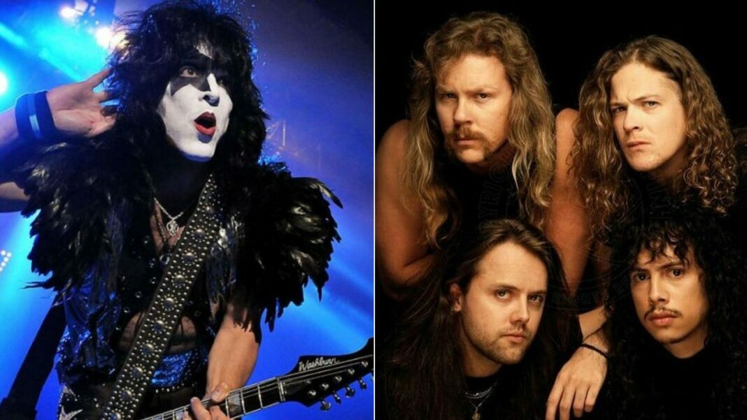 KISS guitarist Paul Stanley has made some comments on Metallica and respected him.