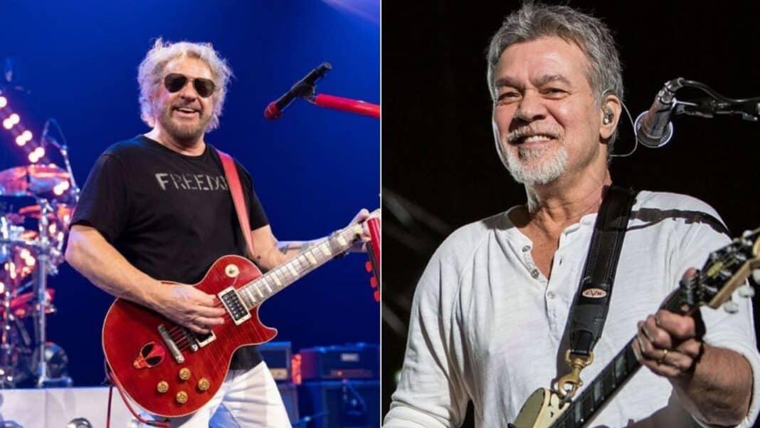 Sammy Hagar thrills fans by confirming never-seen-before footage of Eddie Van Halen will be released soon