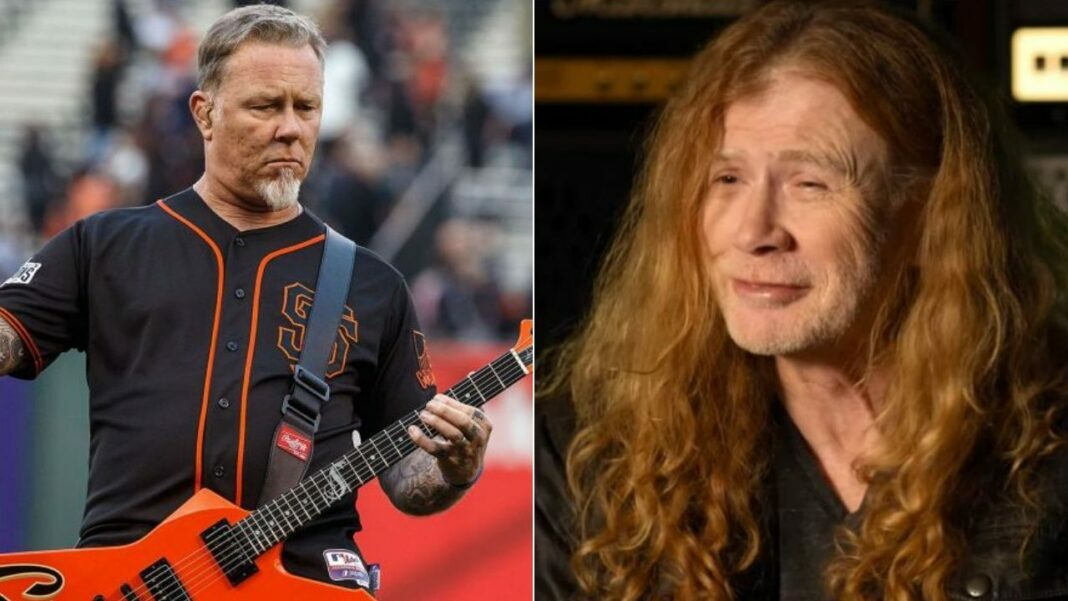 Dave Mustaine Recalls How He Punched James Hetfield In The Face