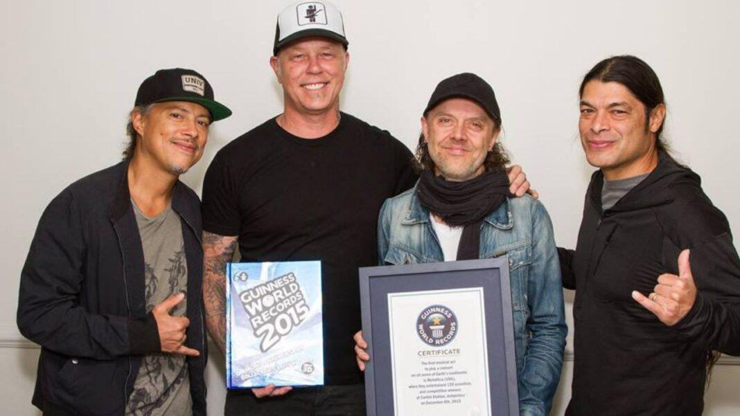 When Metallica Entered Guinness World Records 2015 Book