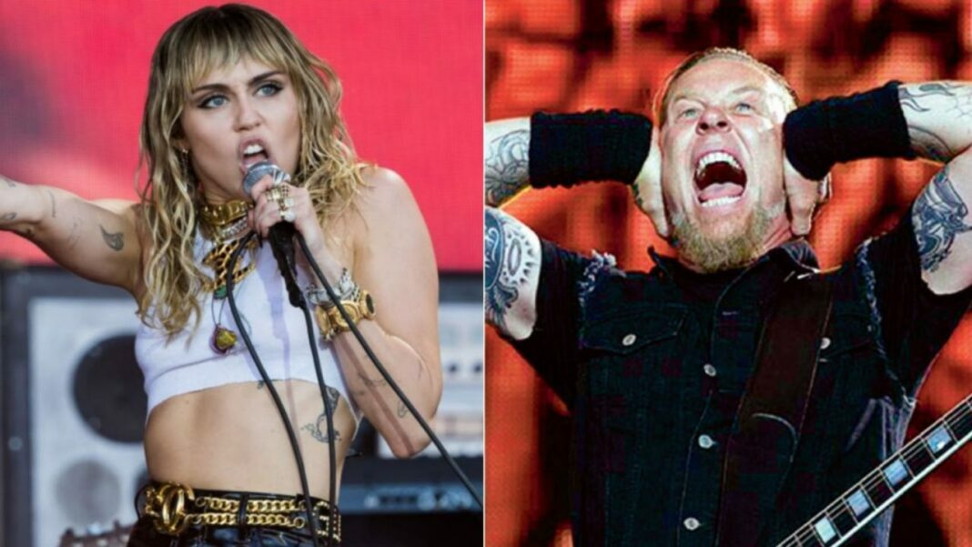Listen How Metallica and Miley Cyrus Performed Nothing Else Matters Live on The Howard Stern Show