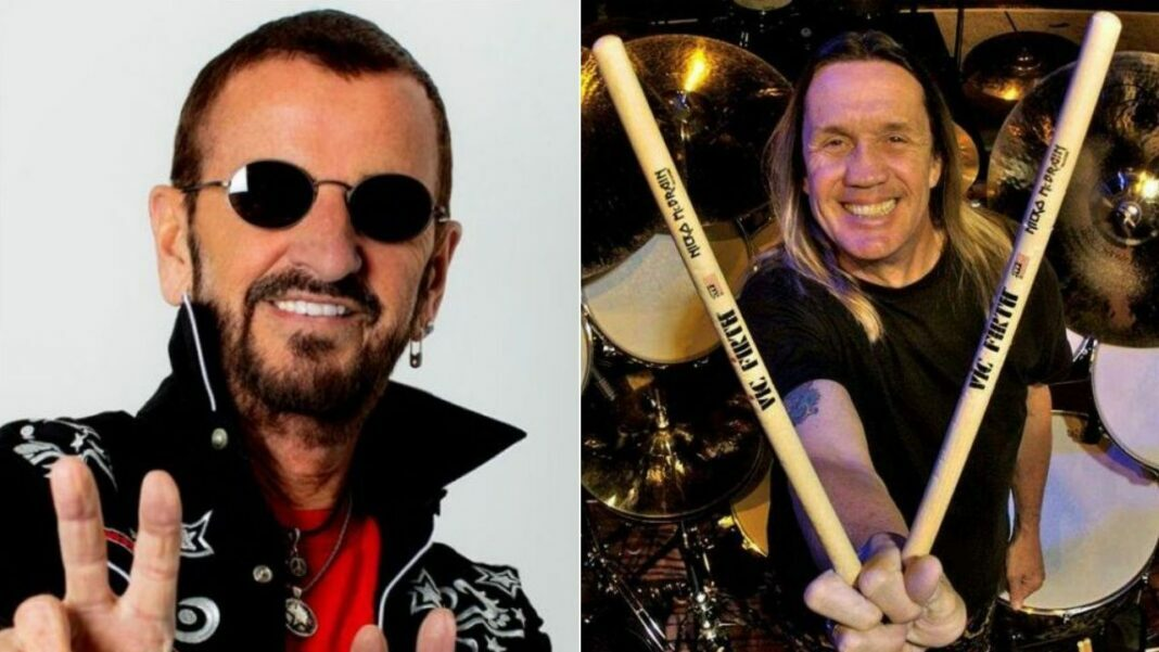 Iron Maiden's Nicko McBrain Says The Beatles' Ringo Starr Is His Rock God: