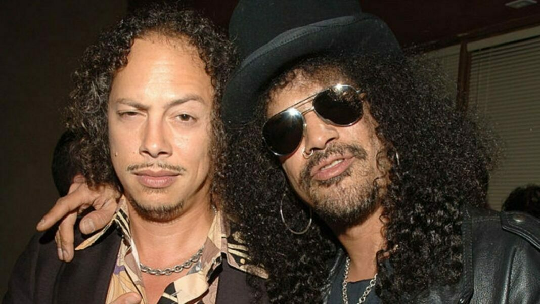 Guns N' Roses' Slash Praises Metallica: