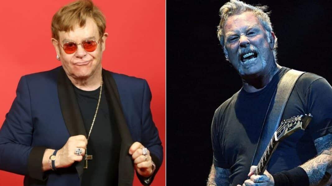 James Hetfield Breaks Silence On Elton John's Metallica Remark:
